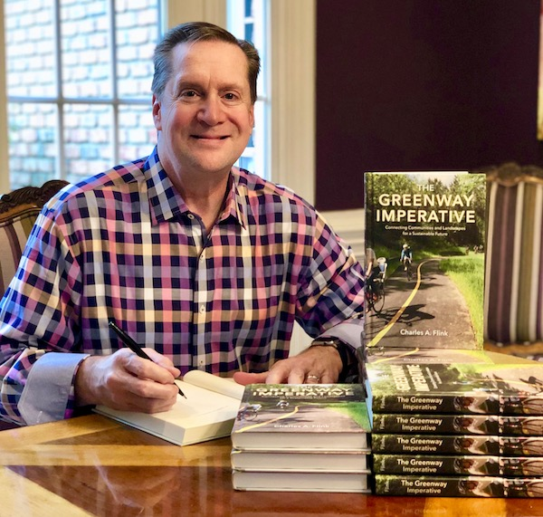 Charles A. Flink, the author of The Greenway Imperative | Courtesy Charles A. Flink