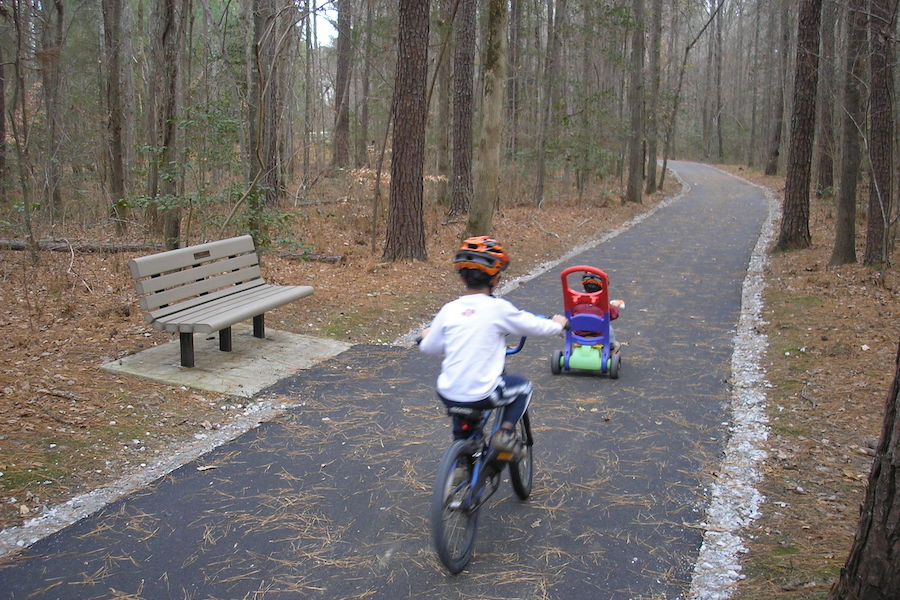 Swift Creek Greenway in North Carolina | Courtesy Town of Cary