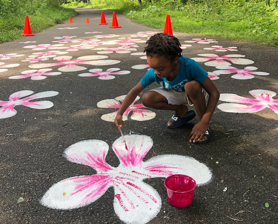 Tacony Creek Trail community artwork | Courtesy Jay Coreano