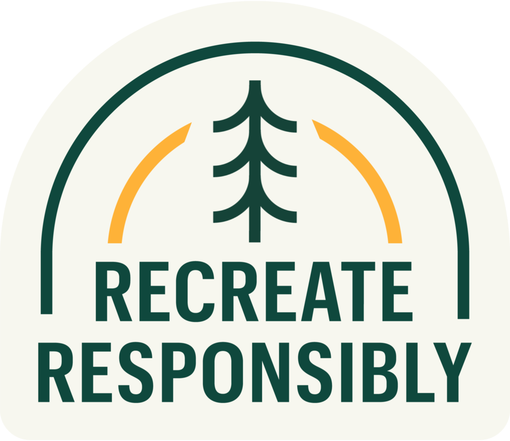Recreate Responsibly sticker