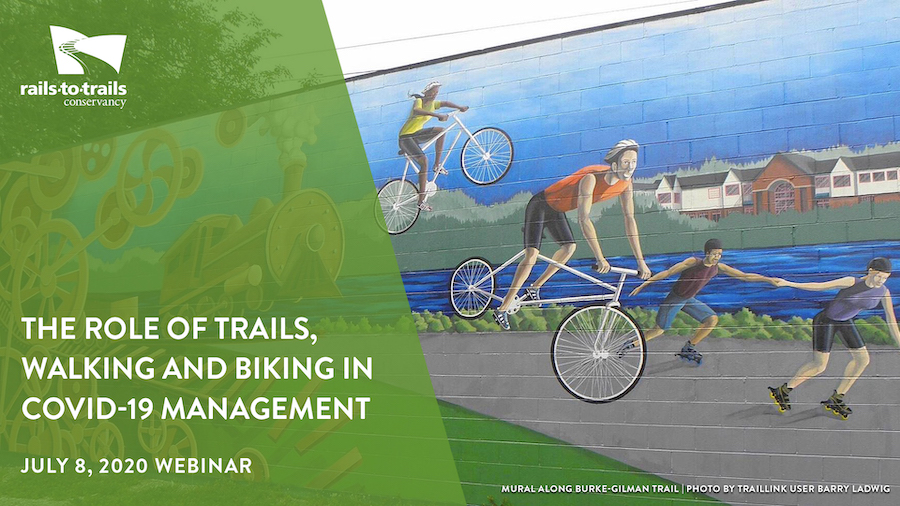 The Role of Trails, Walking and Biking in COVID-19 Management