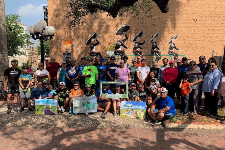 2019 Opening Day for Trails celebration in Brownsville, Texas | Courtesy RTC