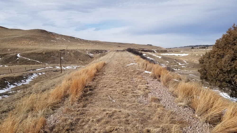 Cowboy Trail corridor development between Rushville and Chadron | Photo by Alex Duryea, courtesy the Nebraska Game and Parks Commission