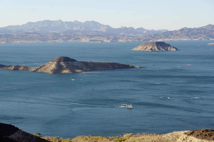 Lake Mead view from the Historic Railroad Trail | Photo by Cindy Barks
