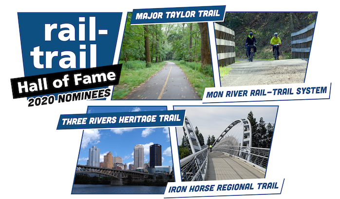 2020 Rail-Trail Hall of Fame Nominees