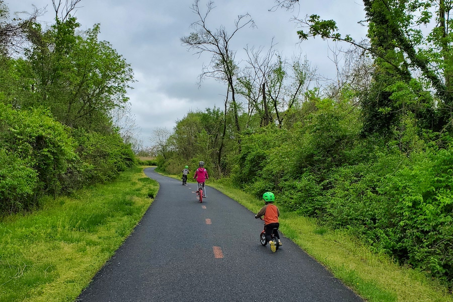 Anacostia River Trail | Photo by Tina O'Connell, courtesy Friends of Kenilworth Aquatic Gardens