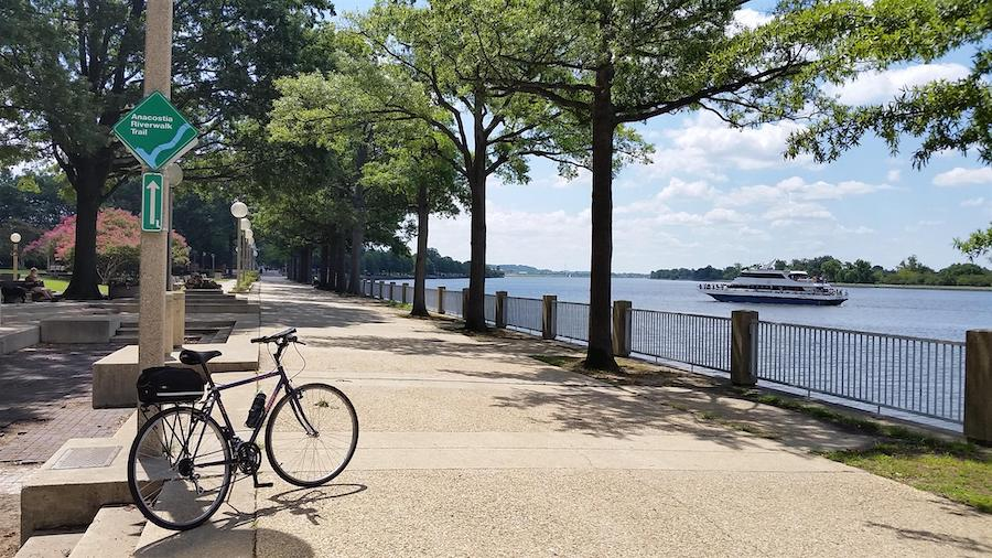 Anacostia River Trail | Photo by TrailLink user dcbikeblogger