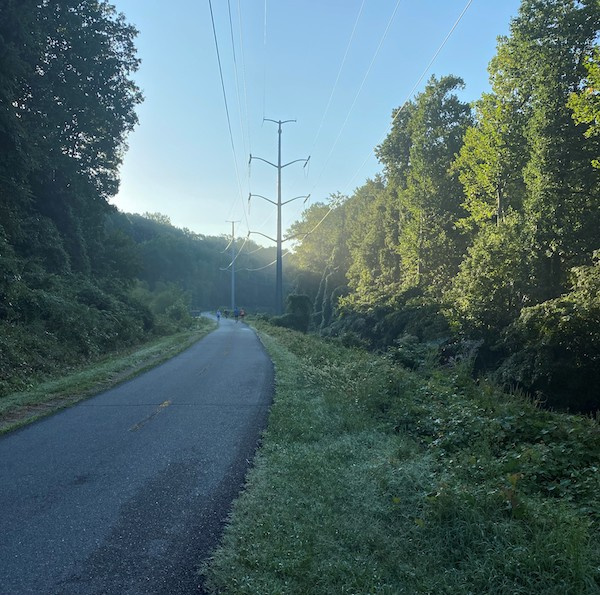 Early morning on the W&OD Trail | Courtesy Brandi Horton