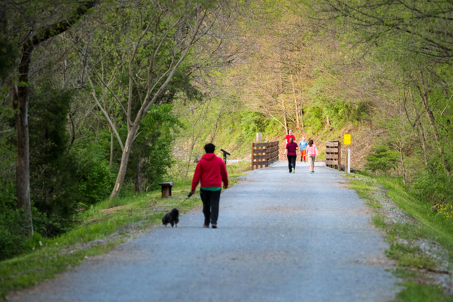 Tweetsie Trail in Elizabethton | Courtesy Carter County Tourism